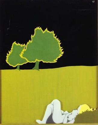 Paysage (Landscape), 1971 - Евелін Аксель