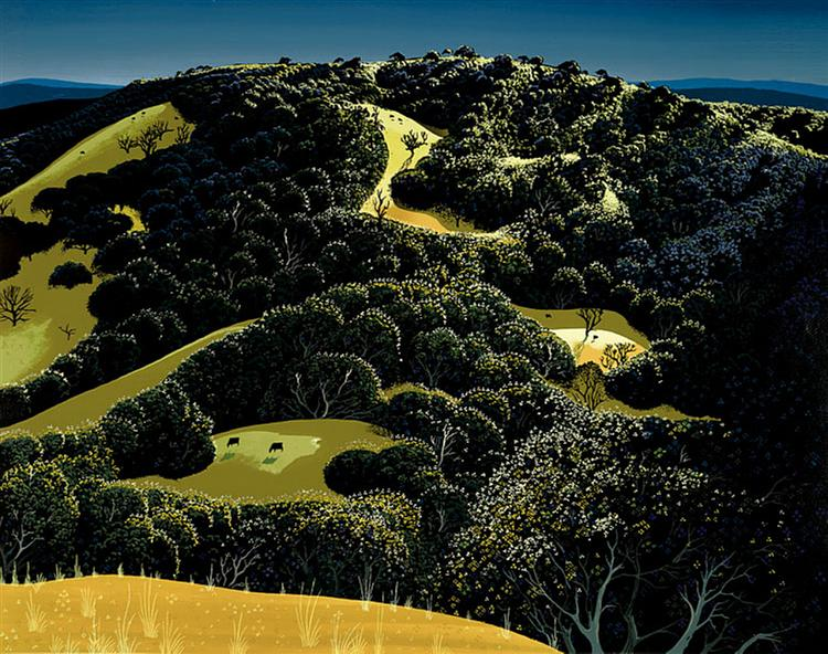 Santa Ynez Valley, 1974 - Eyvind Earle