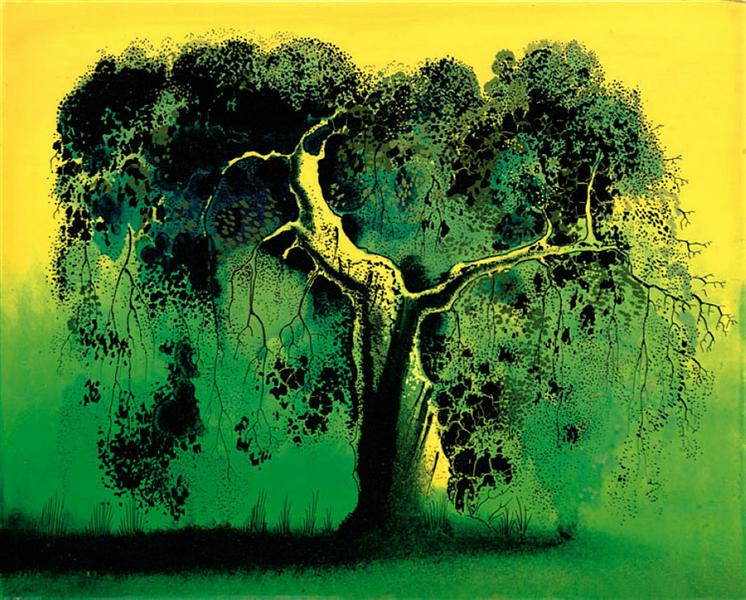 Sycamore, 1974 - Eyvind Earle