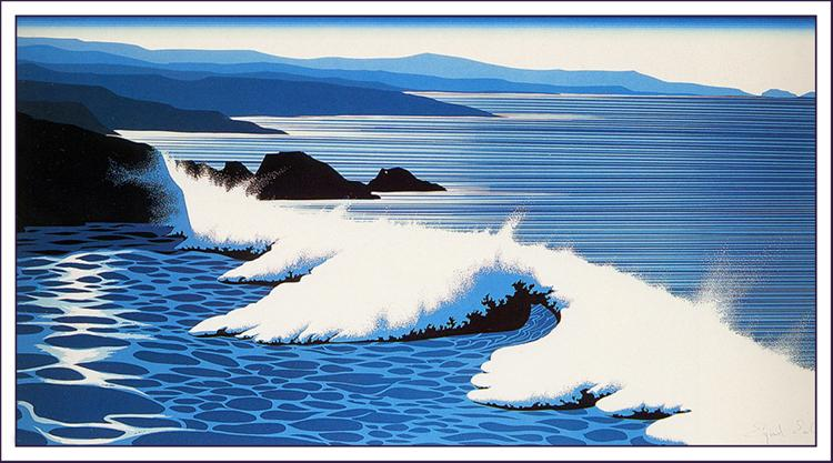 The Wave, 1990 - Eyvind Earle