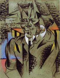 Study for a portrait of Jean Dupré - Феликс дель Марль