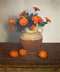 Marigolds and Tangerines - Felix Vallotton