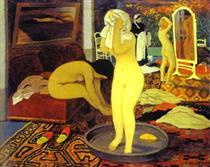 Women at Their Toilet Femmes leur toilette - Felix Vallotton