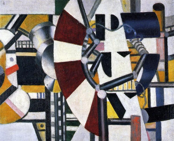 Machine elements, 1919 - 1920 - Fernand Leger