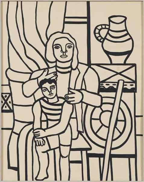 Mother and child, 1955 - Fernand Léger