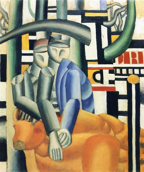 The Butcher Shop, 1921 - Fernand Leger