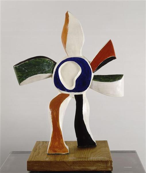 The flower that walks - Fernand Leger