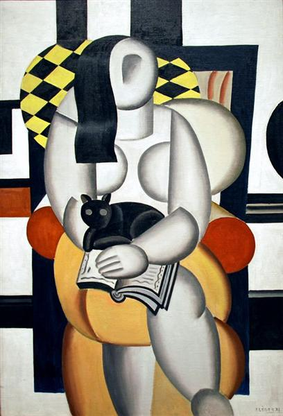 Woman with a Cat, 1921 - Fernand Leger