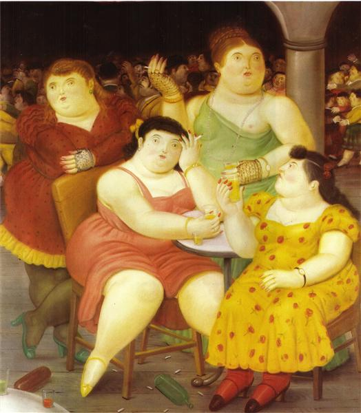 Four Women, 1987 - Fernando Botero