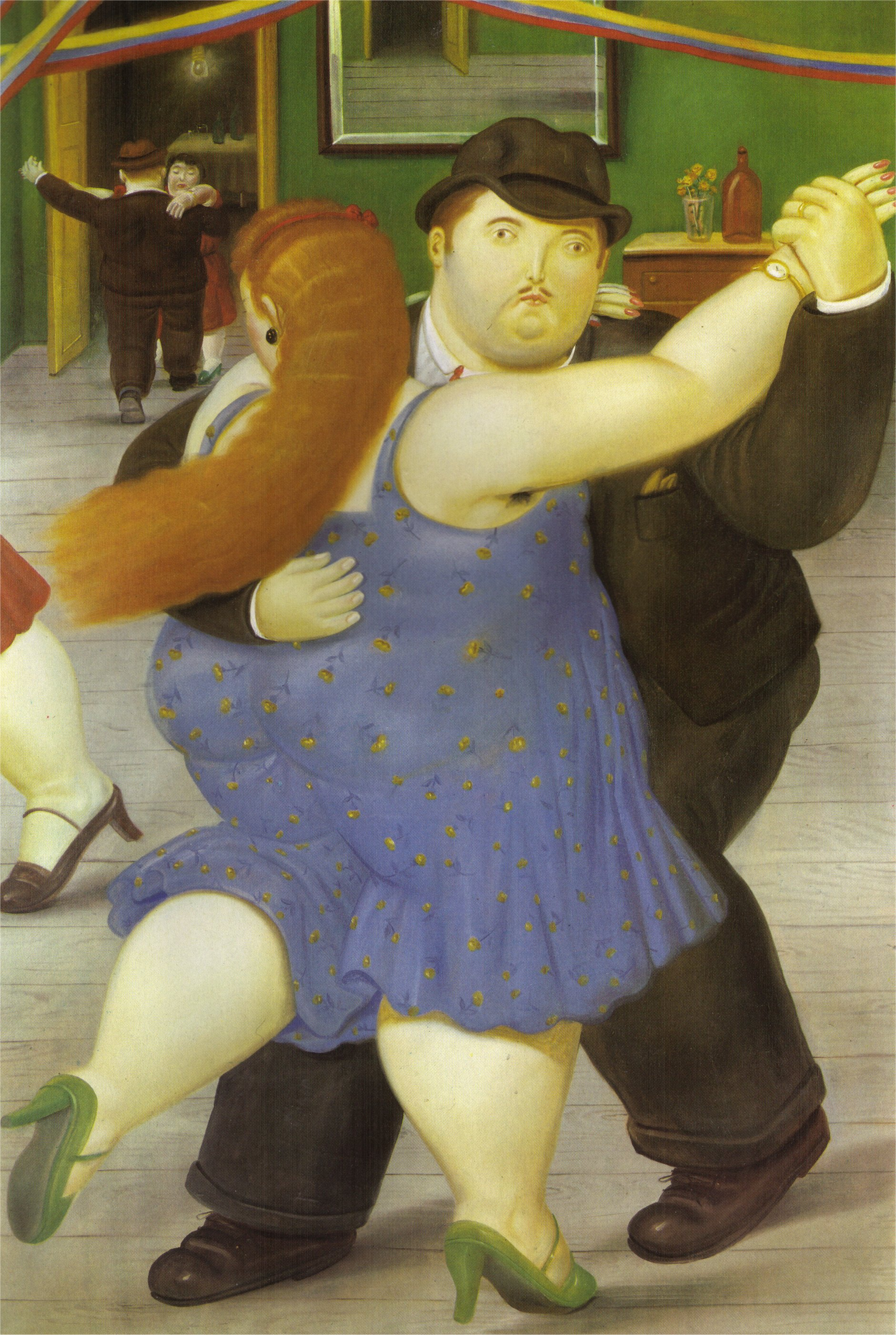 Populaire The Dancers, 1987 - Fernando Botero - WikiArt.org GU85