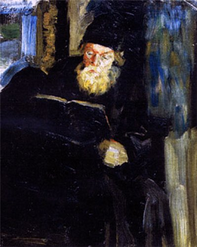 A monk, 1896 - Filipp Malyavin