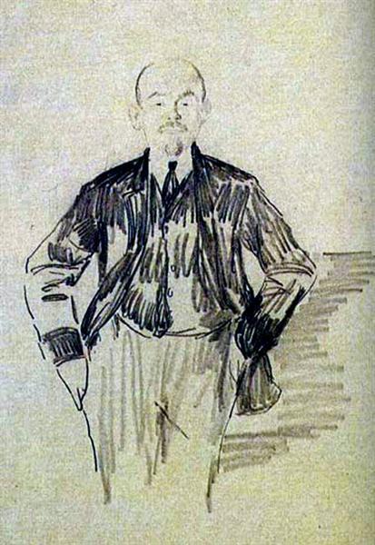 Lenin, 1920 - Филипп Малявин