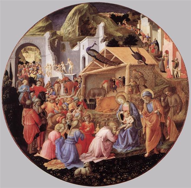Adoration of the Magi, 1430 - Filippo Lippi