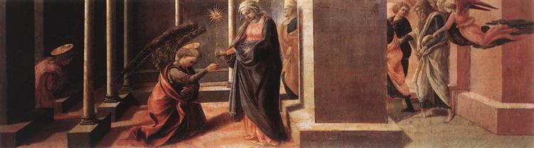 Announcement of the Death of the Virgin, c.1438 - Filippo Lippi