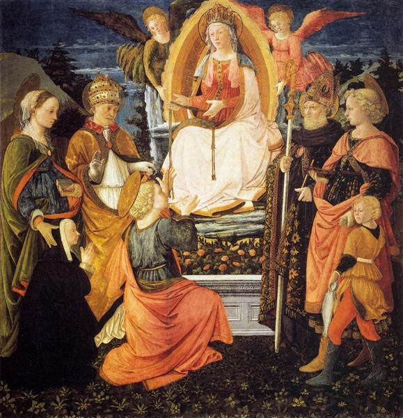 Madonna della Cintola, 1455 - 1465 - Філіппо Ліппі