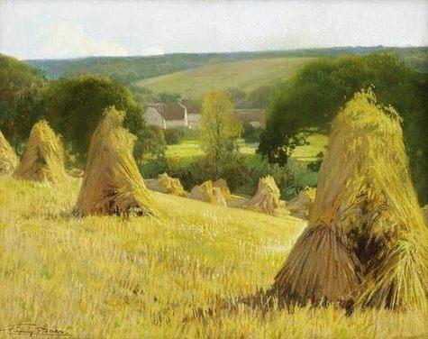 Sheaves of corn - Firmin Baes