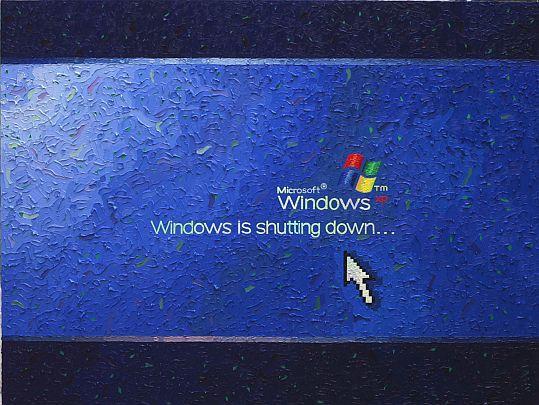 Windows Is Shutting Down, 2007 - Florin Ciulache