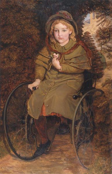 Madeline Scott, 1883