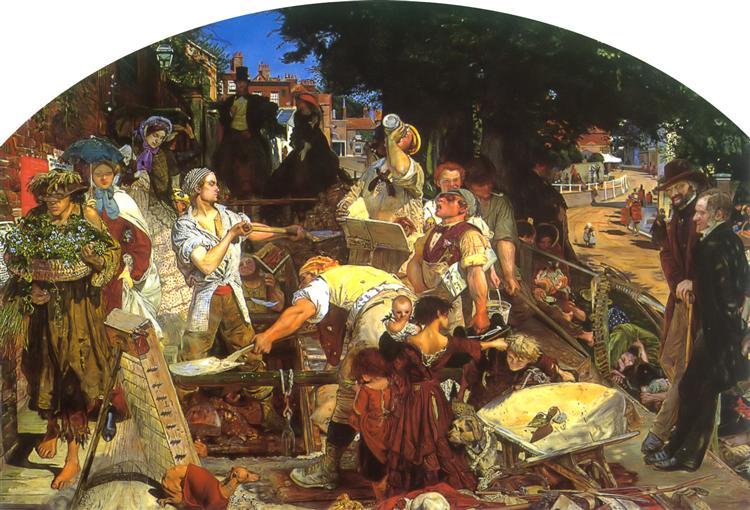 Work - Ford Madox Brown