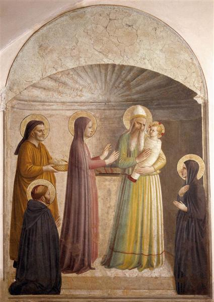Presentation of Jesus in the Temple, 1440 - 1442 - Fra Angelico