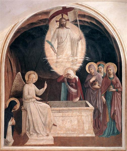 Resurrection of Christ and Women at the Tomb, 1440 - 1442 - Fra Angelico