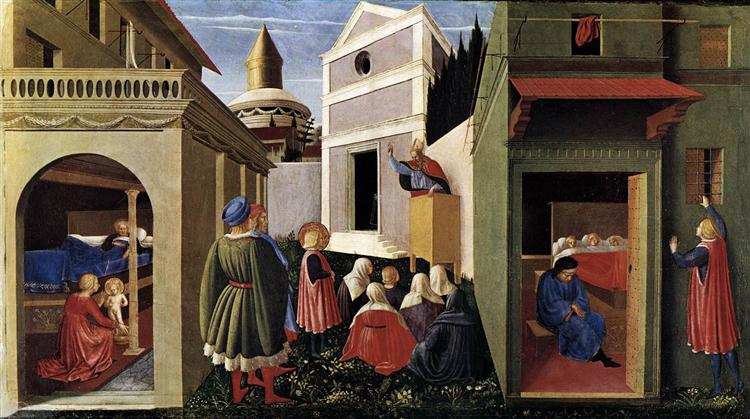 The Story of St. Nicholas, 1447 - 1448 - Fra Angelico