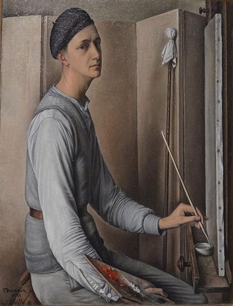 Self-Portrait, 1931 - François Barraud