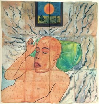 Sun, 1980 - Francesco Clemente