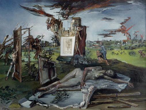 L'hommage à Callot, 1942 - Francis Gruber