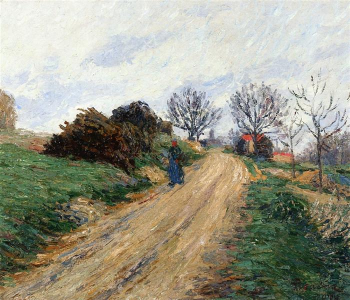 Moret, Route of Pres, 1903 - Francis Picabia