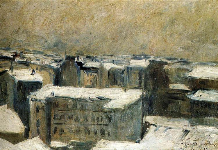 Roofs of Paris, 1900 - Francis Picabia