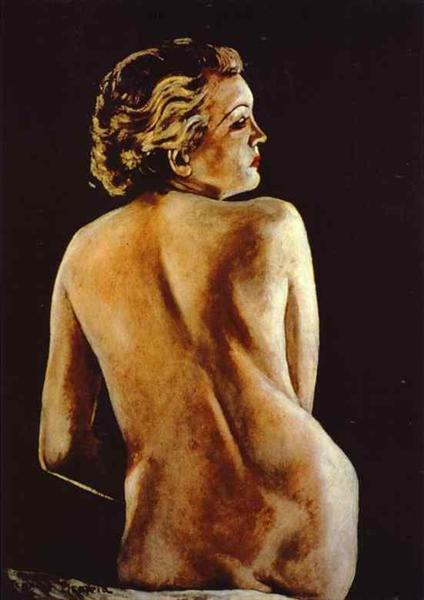 Nude from Back, 1942 - 1944 - Francis Picabia