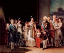 Carlo IV di Spagna e la sua famiglia - Francisco Goya