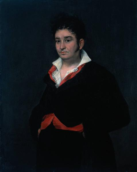 Don Ramon Satue, 1823 - Francisco Goya