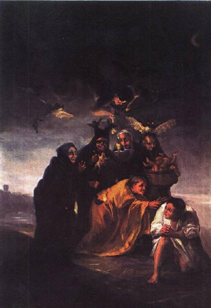 Incantation, c.1797 - Francisco Goya