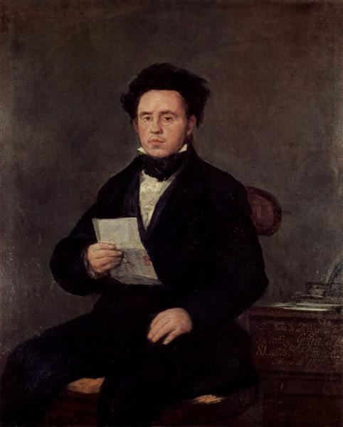 Juan Bautista de Muguiro, 1827 - Francisco Goya