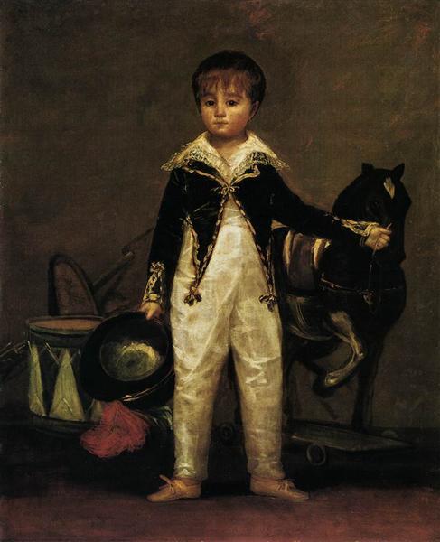 Pepito Costa and Bonells, 1813 - Francisco Goya