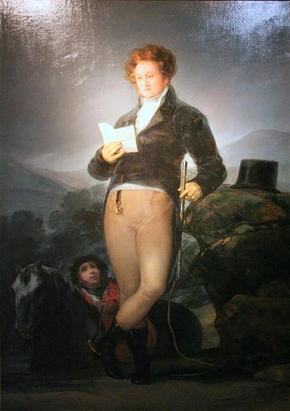Portrait of Don Francisco de Borja Tellez Giron, c.1816 - Francisco Goya