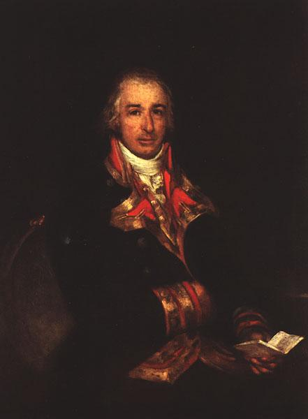 Portrait of Don José Queralto, c.1802 - Francisco Goya