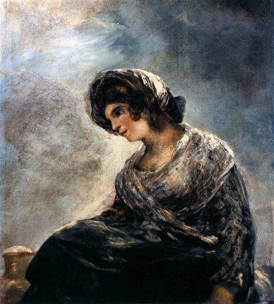 The Milkmaid of Bordeaux, 1825 - 1827 - Francisco Goya