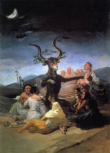 Witches Sabbath, 1789 - Francisco Goya
