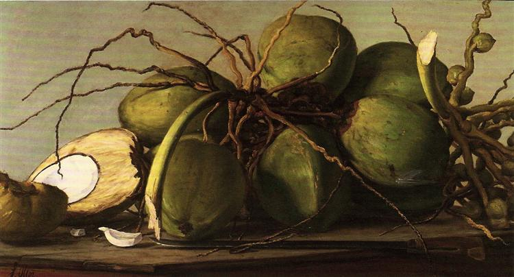 Cocos, 1893 - Francisco Oller