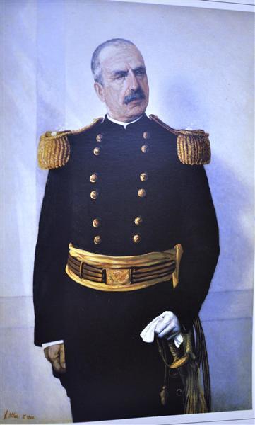 George W. Davis, 1900 - Francisco Oller