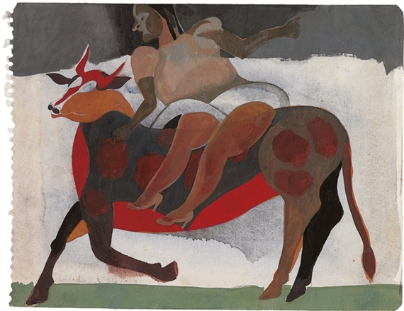 Rape of Europa, 1972 - Francisco Toledo