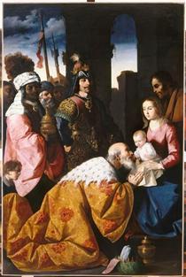 Adoração dos Magos - Francisco de Zurbarán