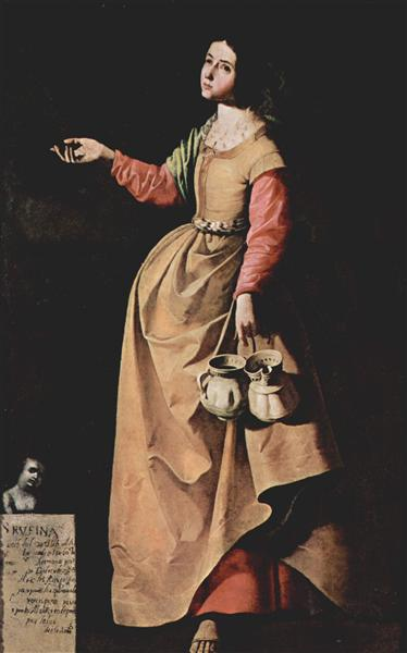 Zurbaran Immaculate Conception