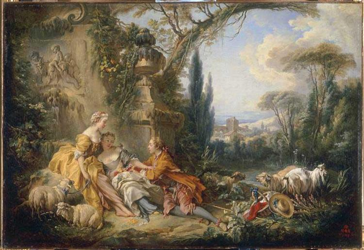 Charms of Country Life, 1737 - Francois Boucher