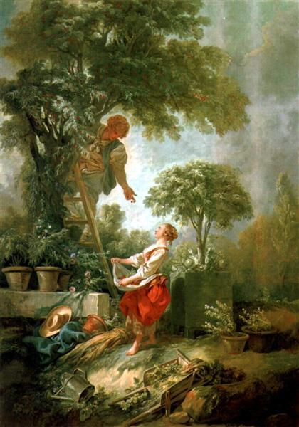 LandscapewithKirschpflückerin, 1768 - Francois Boucher