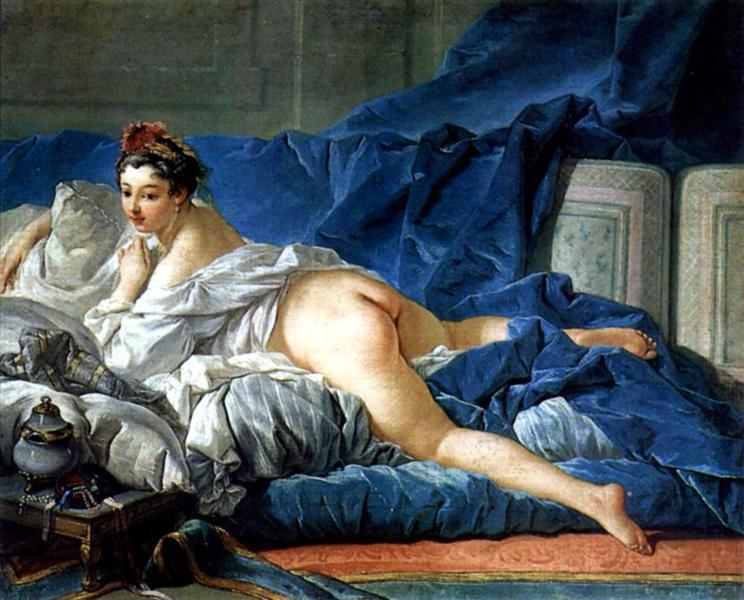 Odalisque, c.1749 - Francois Boucher