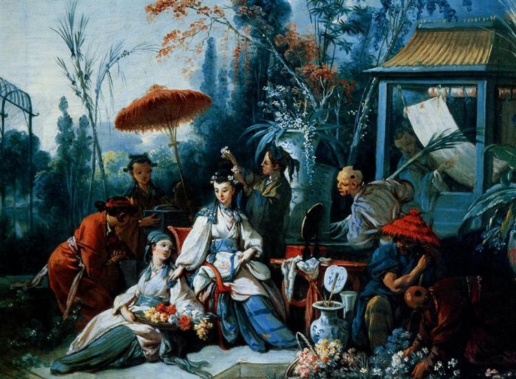 TheChinese Garden, 1742 - Francois Boucher